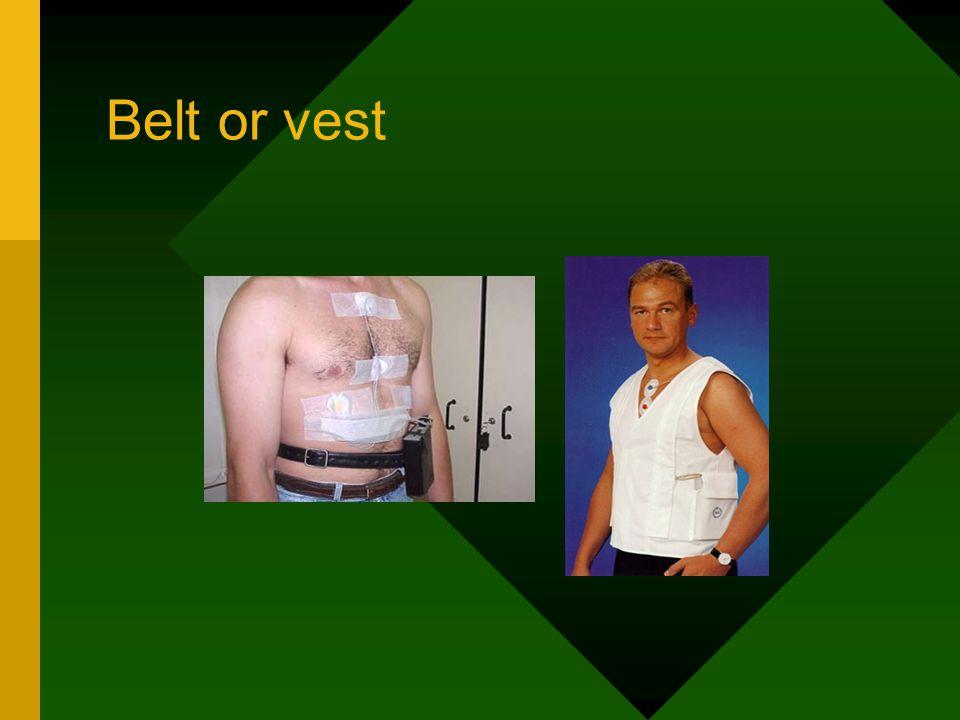 Belt or vest