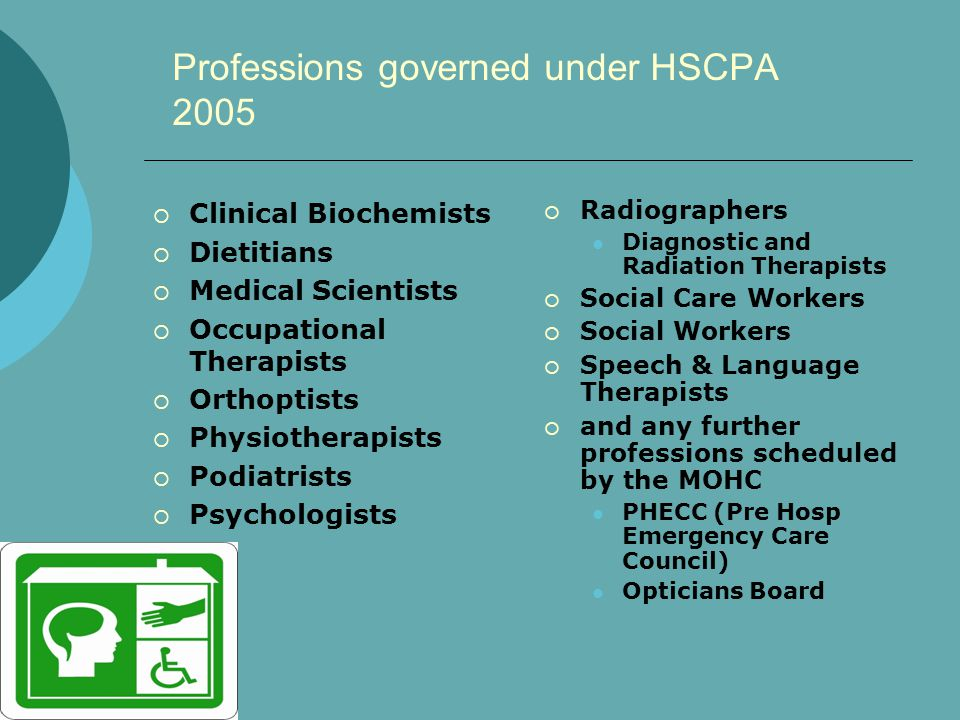 Health & Social Care Professionals Council (CORU) Fitness to Practice CPDEducation Codes of Standards & Practice Registration Functions of the HSCPC