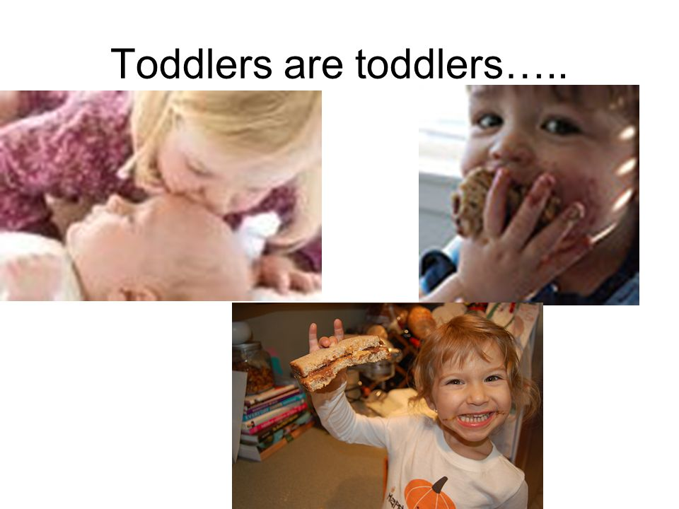 Toddlers are toddlers…..