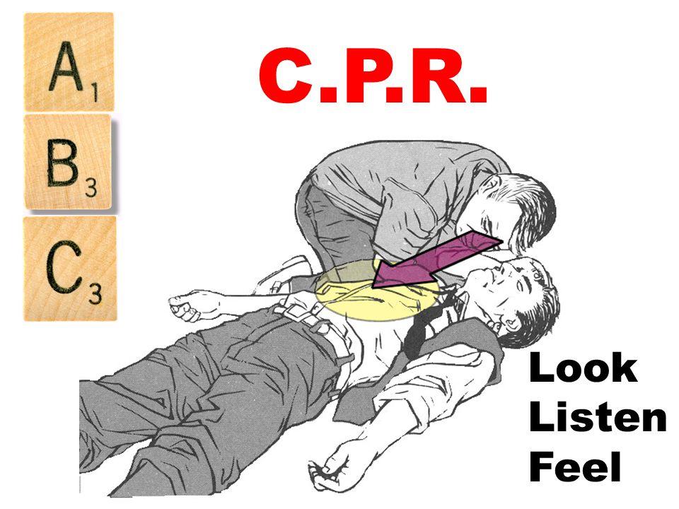 C.P.R. Look Listen Feel