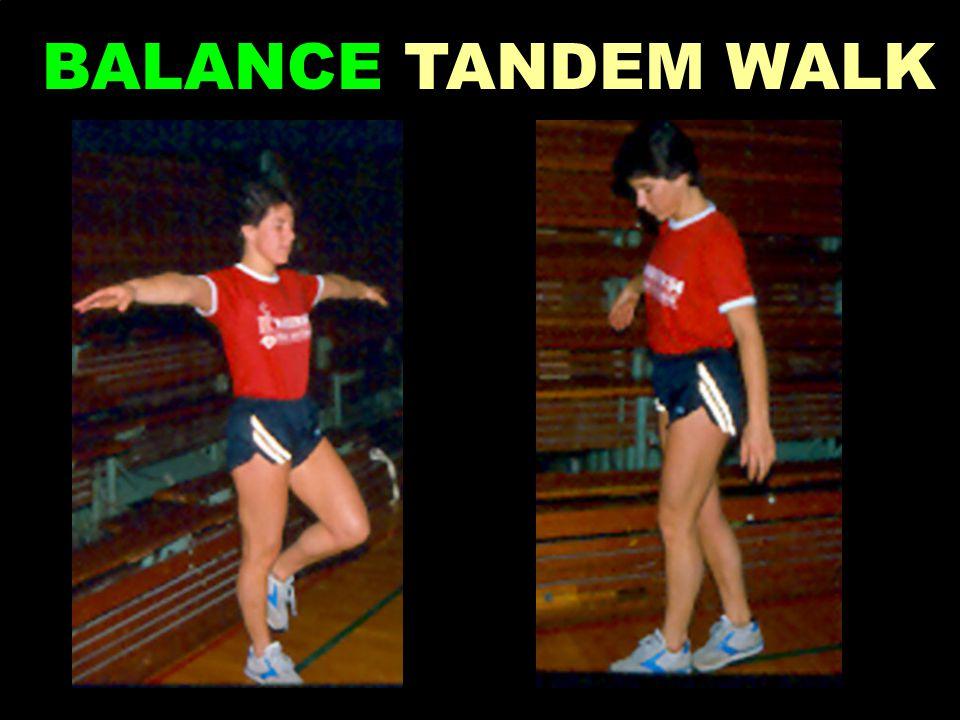 BALANCE TANDEM WALK