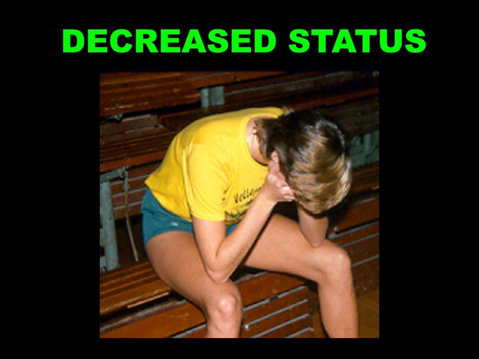 DECREASED STATUS