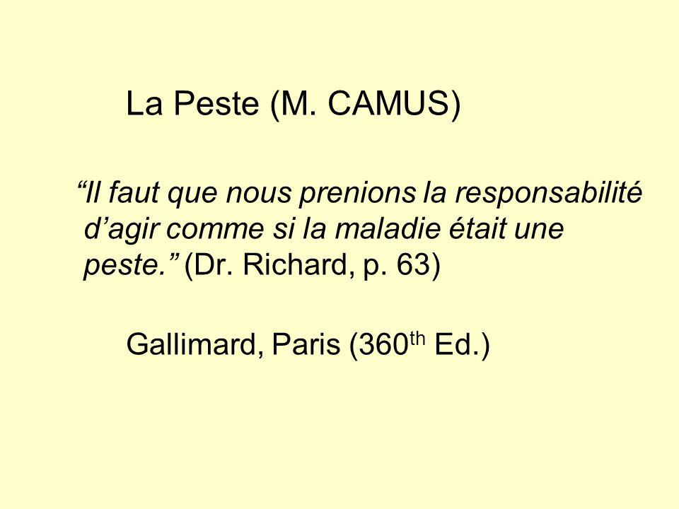 La Peste (M.