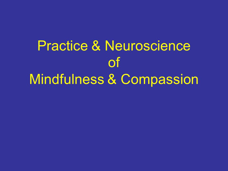 Zurich study Identify neural activity underlying compassion in expert meditator –30% 60% 90% intensity Area of interest right Insula.