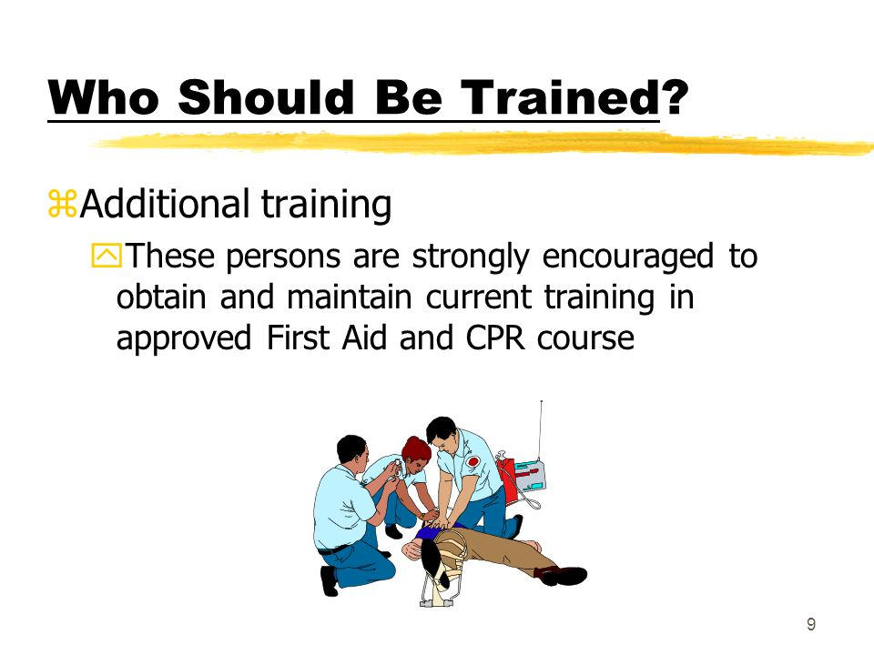 8 Who Should Be Trained.
