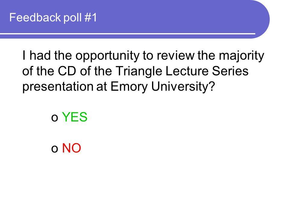Feedback poll #4 In 1978, Ewalt and Perkins conducted a survey in two public high schools in Kansas City, Kansas.
