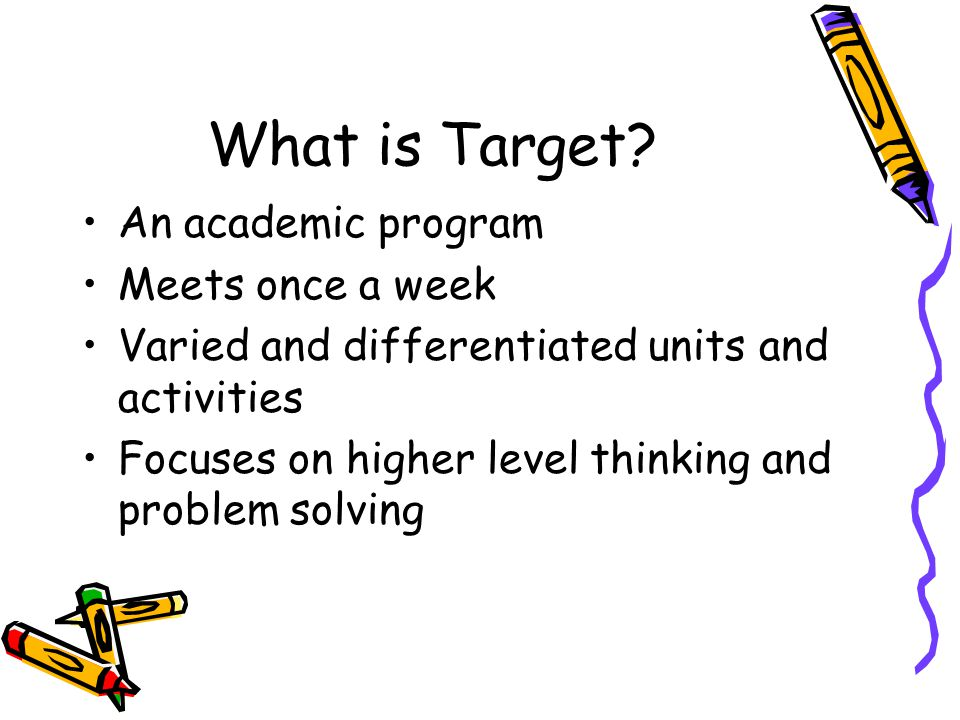 What is Target.