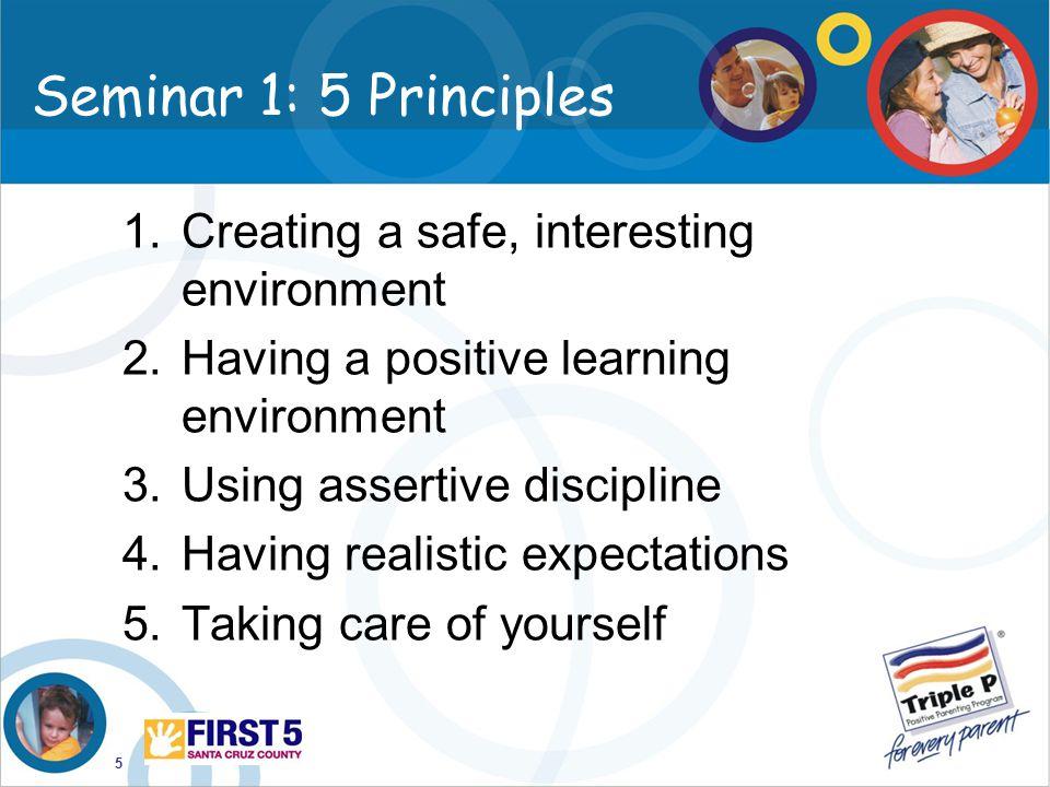 6 Seminar 2: Building blocks Raising confident, competent children