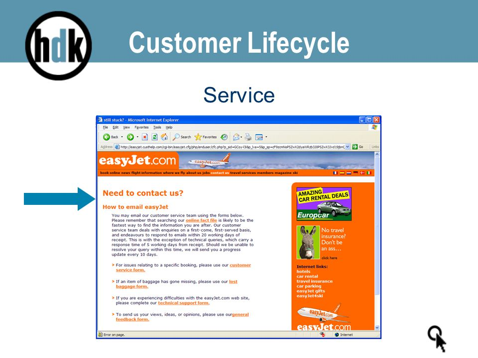 Customer Lifecycle Service
