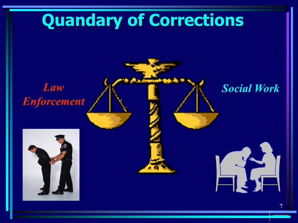 7 Quandary of Corrections Law Enforcement Social Work