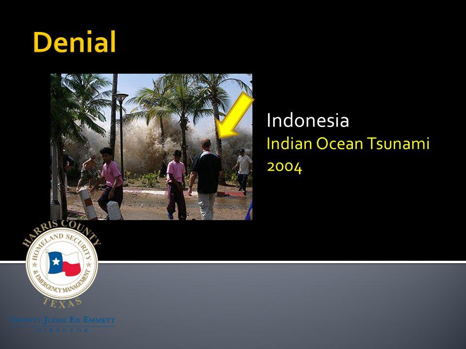 Indonesia Indian Ocean Tsunami 2004