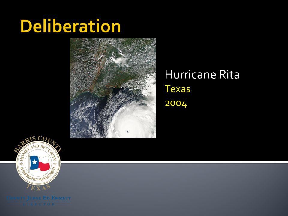 Hurricane Rita Texas 2004