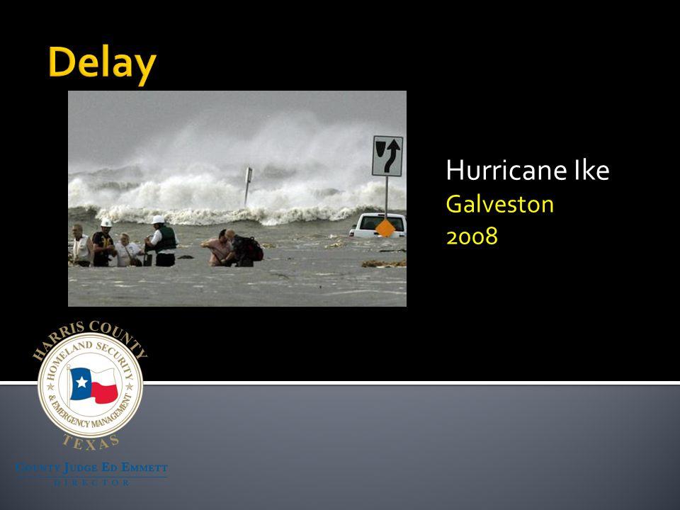 Hurricane Ike Galveston 2008