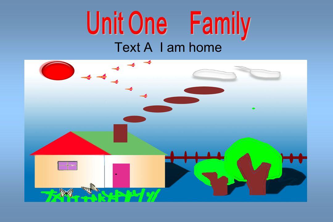 Text A I am home