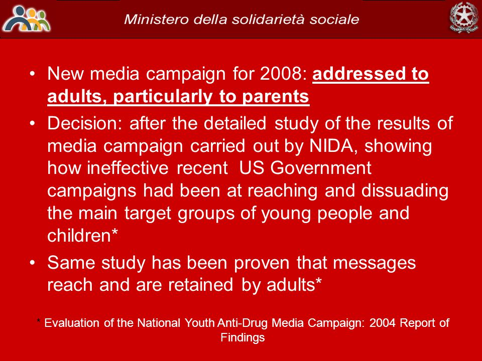 Contractor's National Evaluation Did Not Find That the Youth Anti-Drug Media Campaign Was Effective in Reducing Youth Drug Use 2006 GAO - Report to theSubcommittee on Transportation, Treasury, the Judiciary, Housing and Urban Development, and Related Agencies, Committee on Appropriations, U.S.