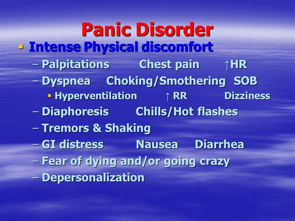 Anxiolytics Anti-Anxiety Meds  Selective Serotonin Reuptake Inhibitors (SSRIs) Citalopram (Celexa) Escitalopram (Lexapro) Fluoxetine (Prozac/ Serafem Puvules-weekly) Fluvoxamine (Luvox) Paroxetine (Paxil) Sertraline (Zoloft) Only prevents 5-HT reuptake ↑↑ 5-HT available = ↑ regulation of emotions, wakefulness No other neurotransmitters affected ↓↓ E & NE Side effects AnxietyAgitationNausea Insomnia Sexual Dysfunction Akathisia (Use Propanolol)