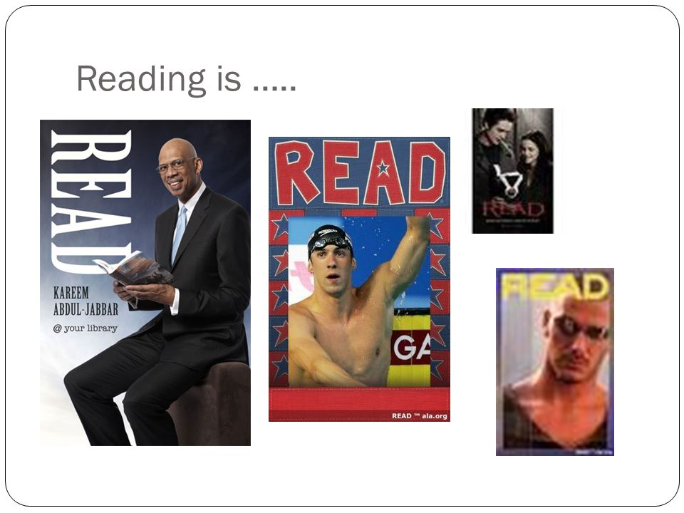 Reading is …..