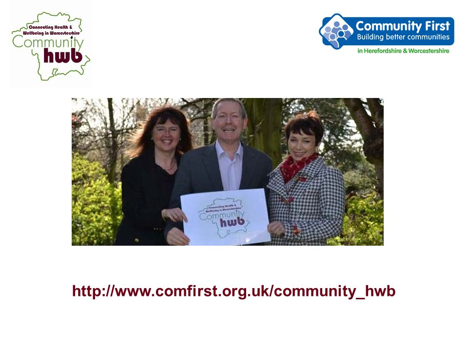 Community hwb connects....