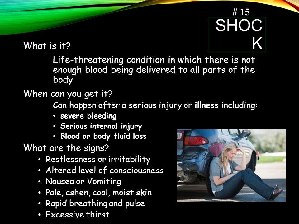 SHOC K What is it.
