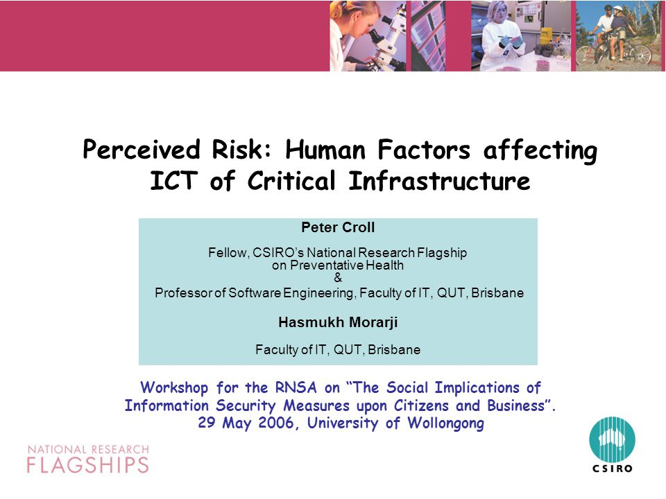 Towards 2045 Reduction in the impact of chronic disorders Use of assistive technologies to enhance the functional capacity of an ageing population Protective foods Novel biomarkers and diagnostics New preventive strategies including chemoprevention Enabling and assistive technologies Integrated health data Information for the setting of lifestyle guidelines HOW * * Productivity Commission 2005, Economic Implications of an Ageing Australia, Melbourne, April
