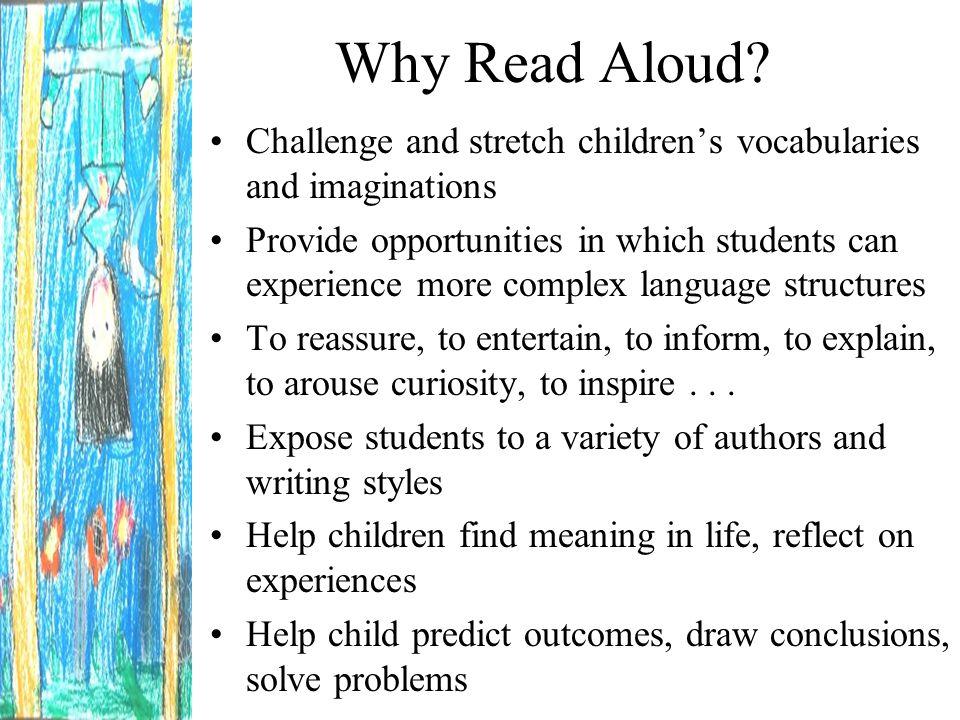 To WHOM should I Read Aloud.