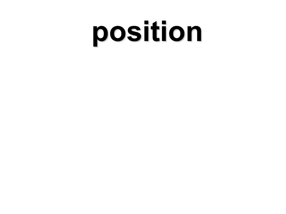 position position