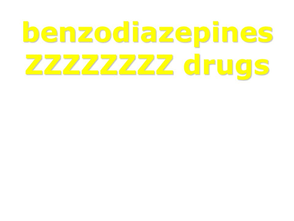 benzodiazepines ZZZZZZZZ drugs