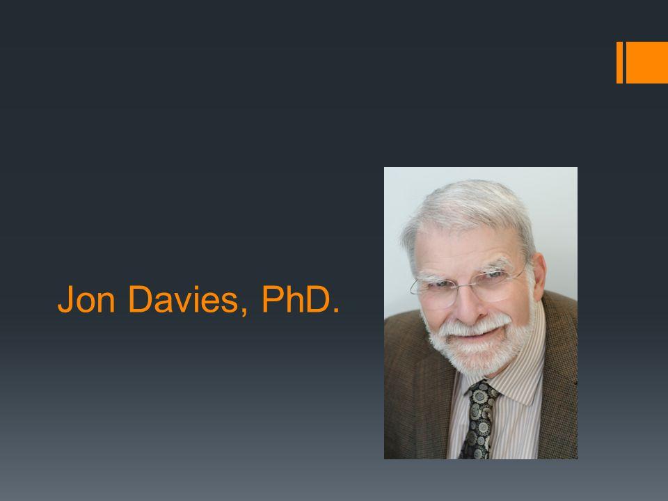 Jon Davies, PhD.