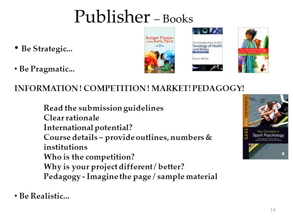 Be Strategic... Be Pragmatic... INFORMATION . COMPETITION .