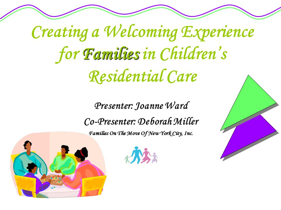 Introduction: How can I help families help their children.