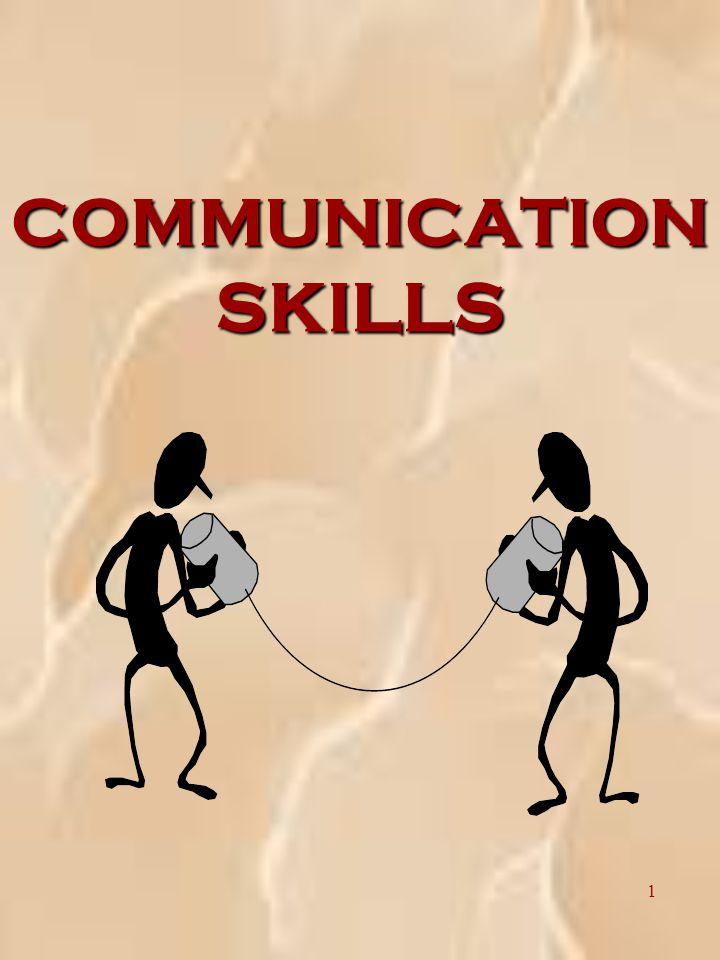 1 COMMUNICATION SKILLS