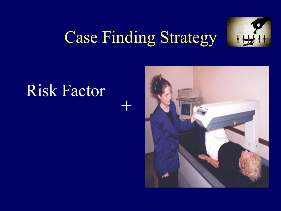 Risk Factor Case Finding Strategy +
