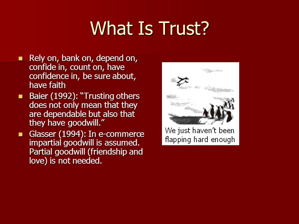 What Will Increase My Trust at A Site 12.