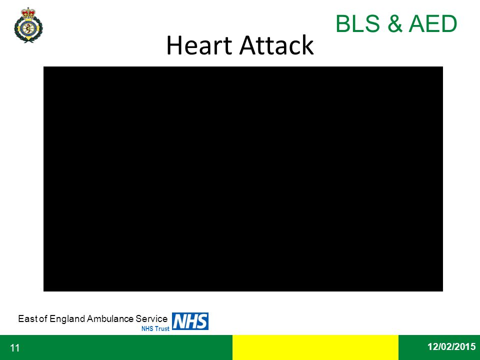Date East of England Ambulance Service NHS Trust BLS & AED 12/02/2015 11 Heart Attack