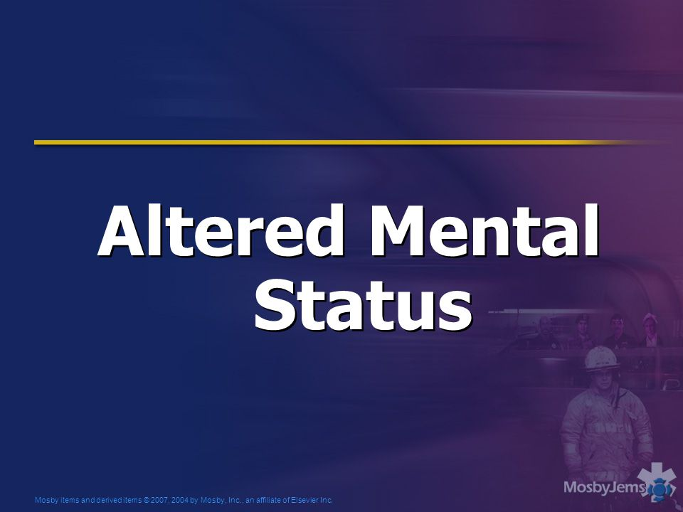 Altered Mental Status