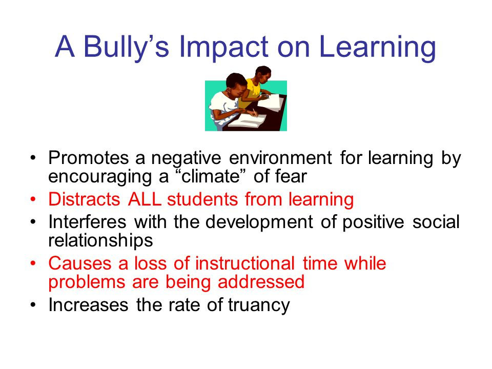 As a parent… …accept the possibility your child might be a bully.