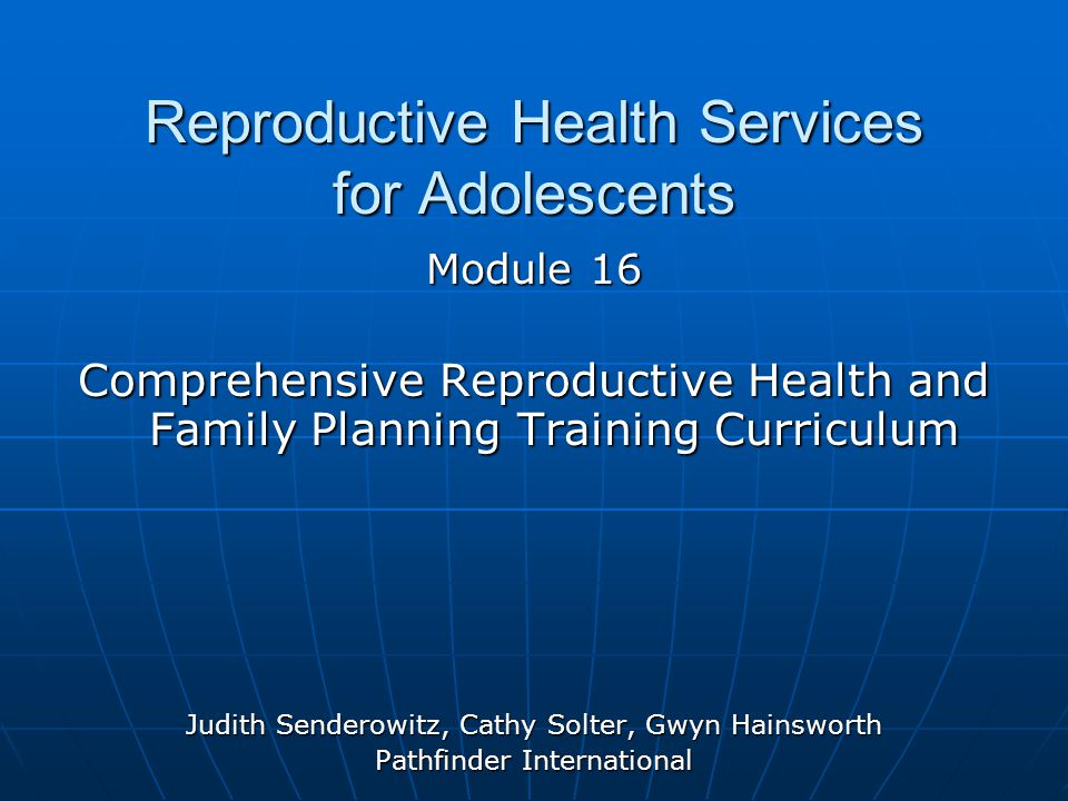 Purpose to prepare participants to provide quality reproductive health services to adolescents to prepare participants to provide quality reproductive health services to adolescents to train participants using participatory methods such as skills practice, discussions, review of case studies, role plays and using knowledge, attitude and skills checklists to train participants using participatory methods such as skills practice, discussions, review of case studies, role plays and using knowledge, attitude and skills checklists