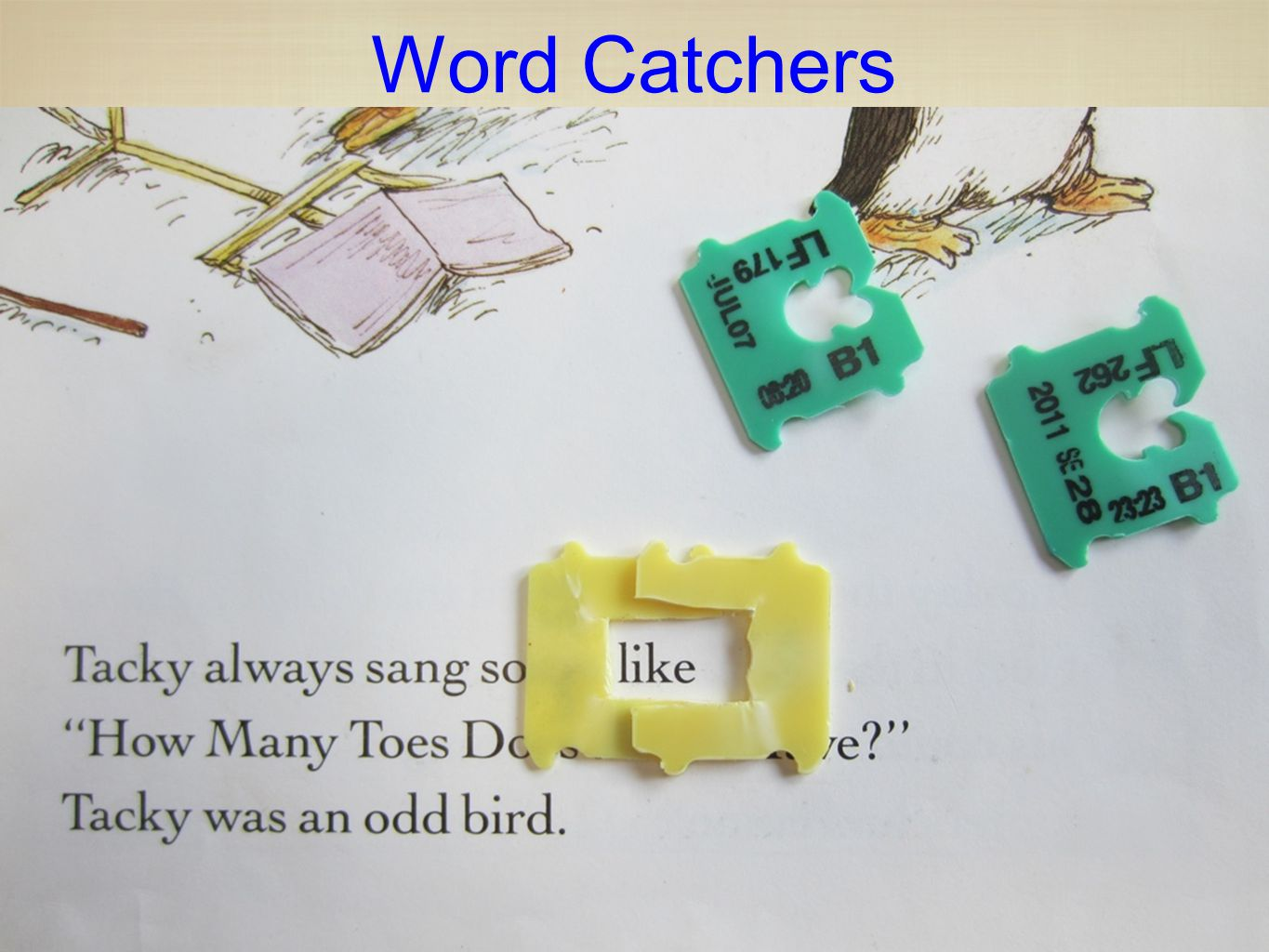 Word Catchers