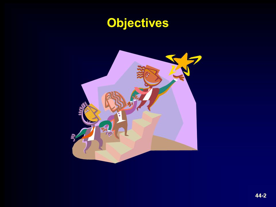 44-2 Objectives