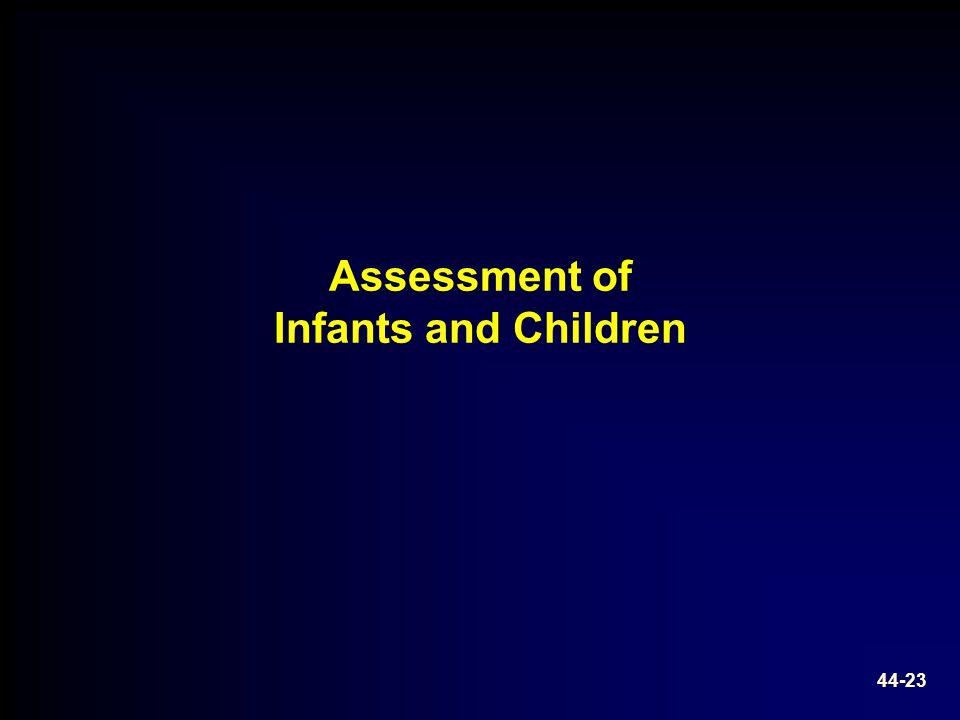 Assessment of Infants and Children 44-23