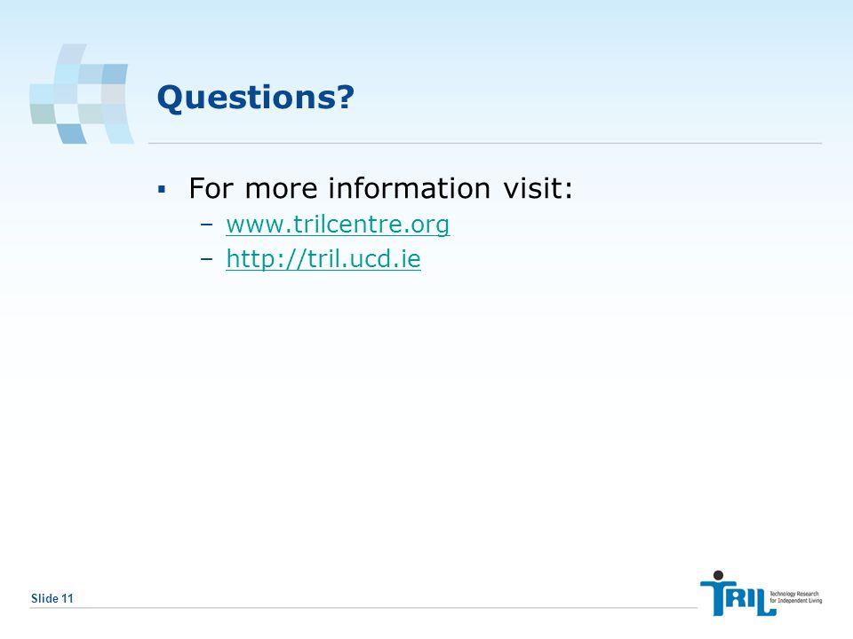 Slide 11 Questions.
