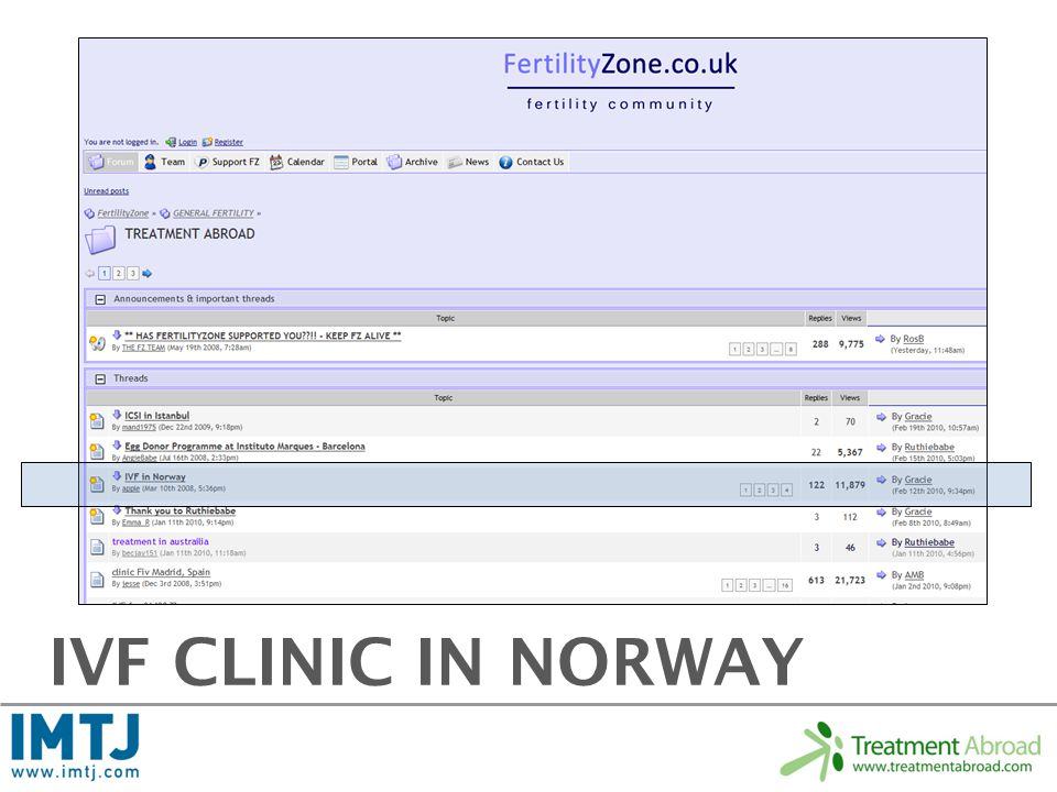 IVF CLINIC IN NORWAY