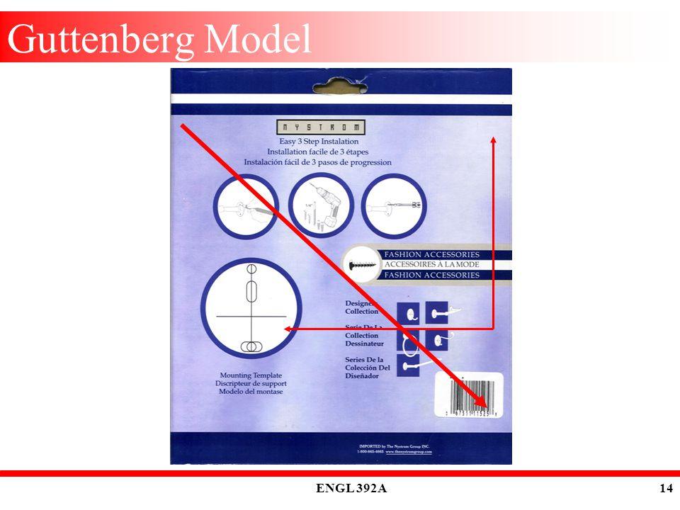 ENGL 392A 14 Guttenberg Model
