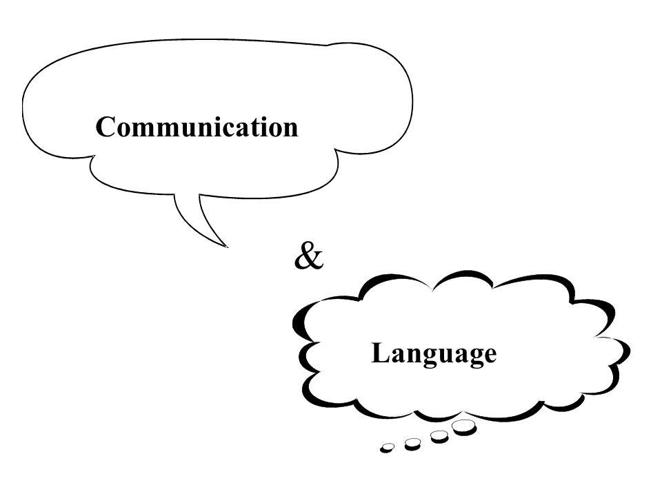 & Communication Language
