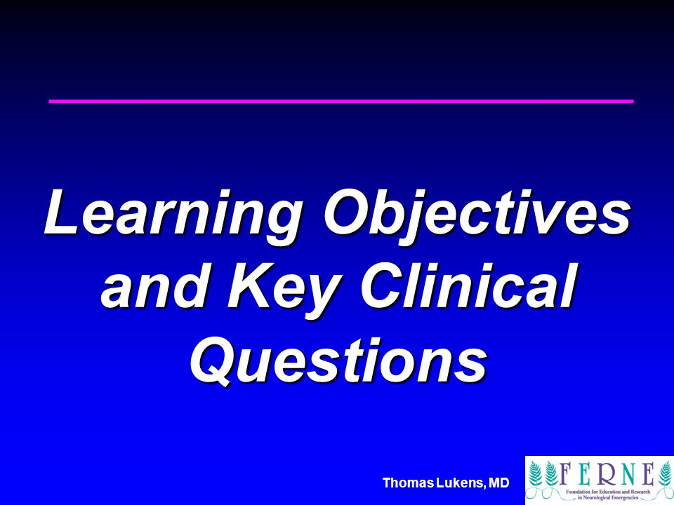 Thomas Lukens, MD Session Objectives Discuss – how to evaluate this patient for cause of his delirium .