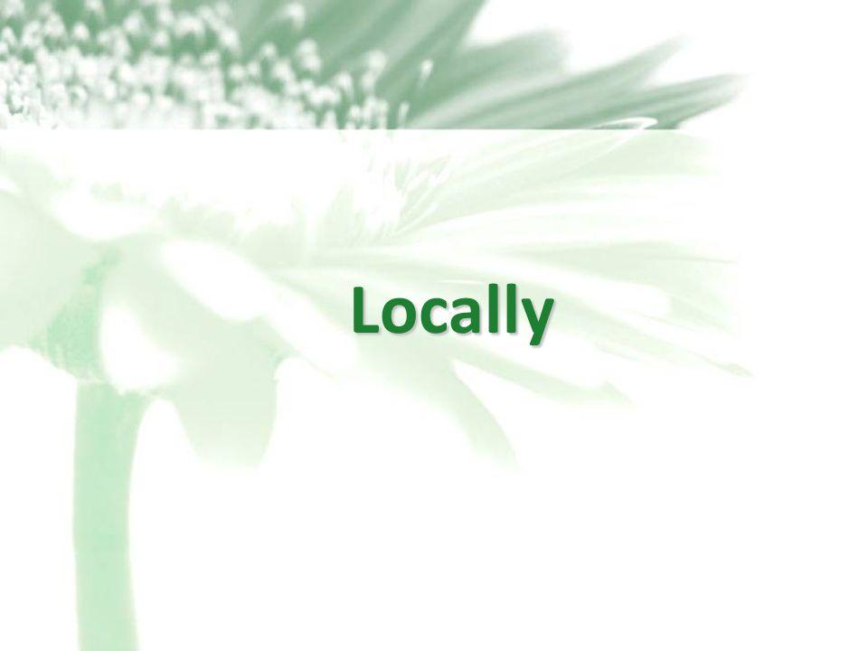 29 Locally