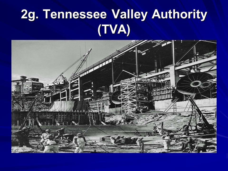 2g. Tennessee Valley Authority (TVA)