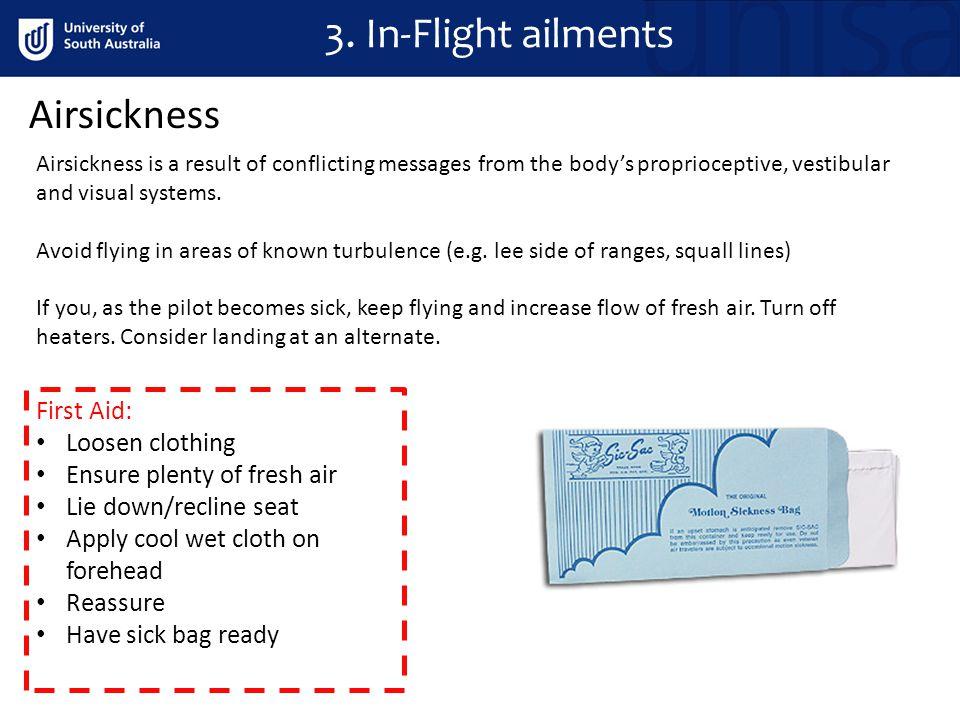 Airsickness 3.