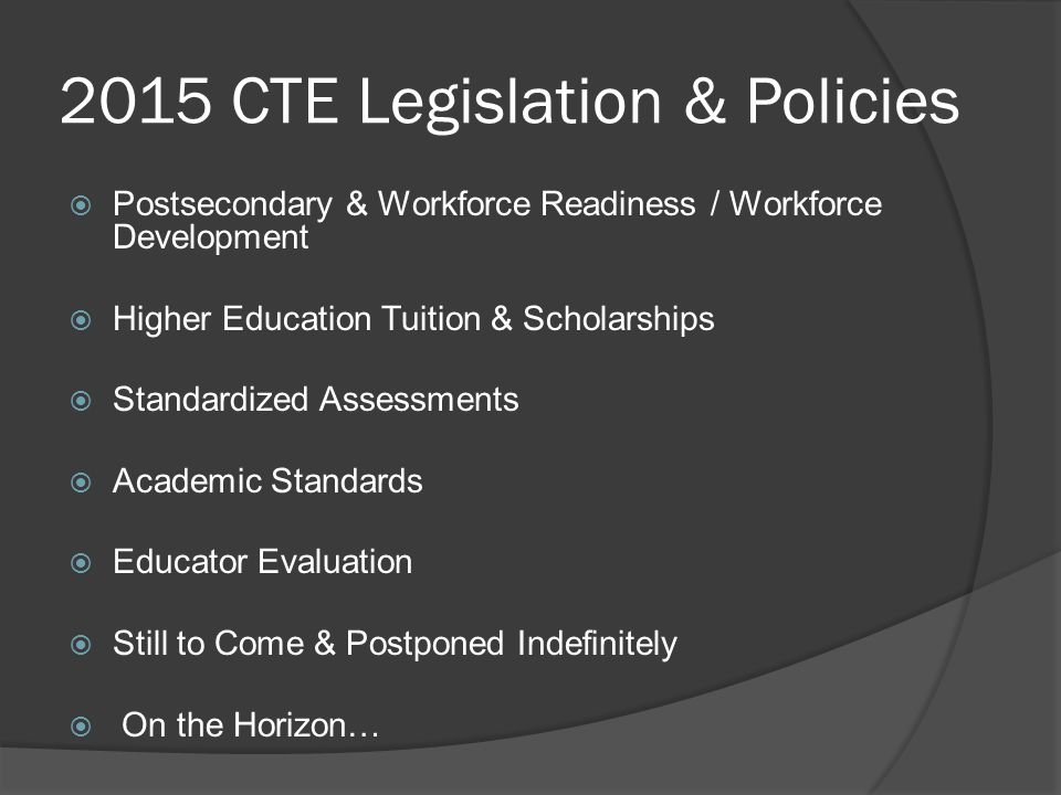 PWR & Workforce Development  CDE & PWR 2.0 *non-legislative  HB15-1190 Assistance to Public Schools for Career Pathways Rep.