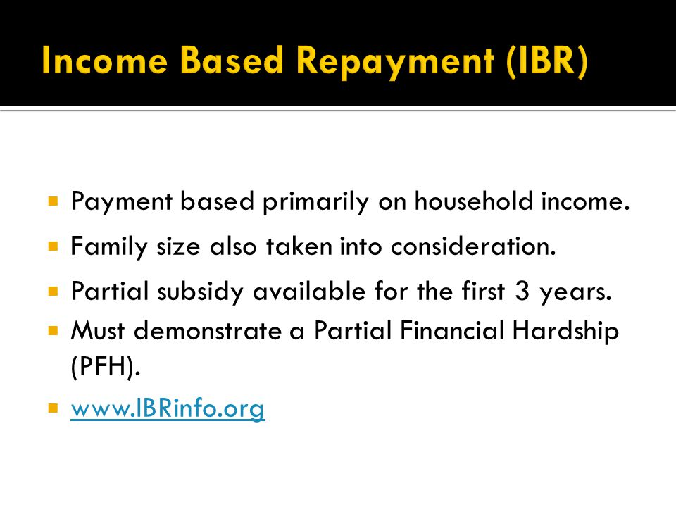  Payment based primarily on household income.  Family size also taken into consideration.